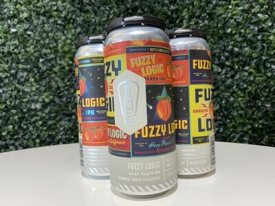 Bottle Logic - Fuzzy Logic - NEIPA - 7.1% ABV - 16oz Can