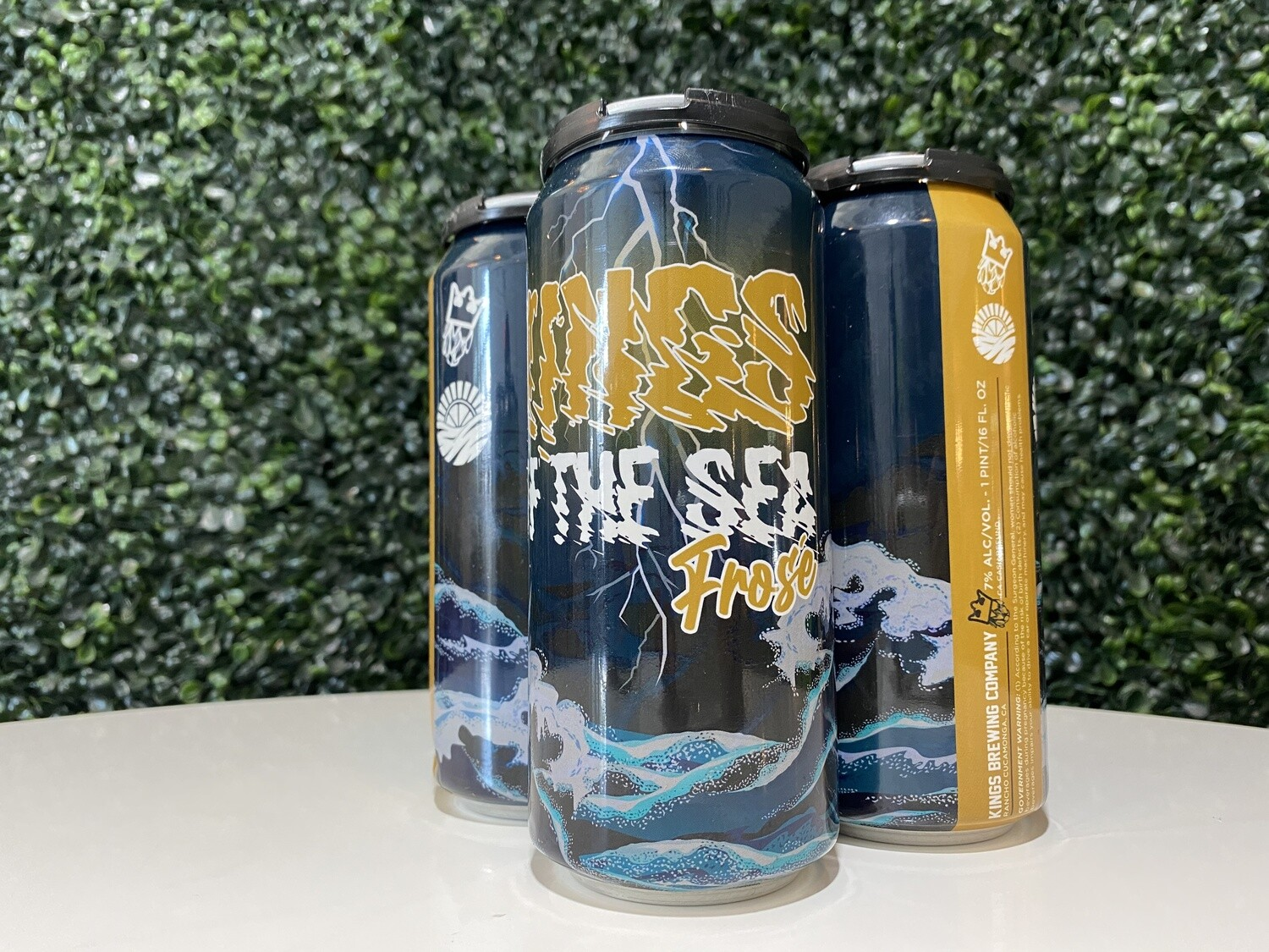 Kings Brewing Company - King's of Sea Frose - Fruited Sour - 7% ABV - 16oz Can