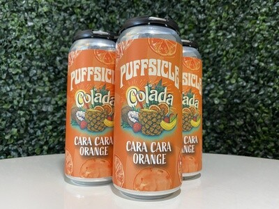 Imprint - Schmoojee Cara Cara Orange Puffsicle Colada - 5.7% ABV - 16oz Can