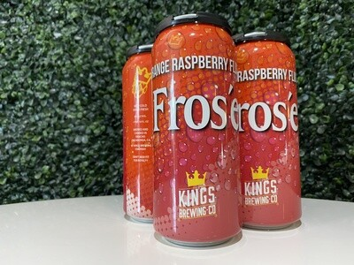 Kings Brewing Company - Orange Raspberry Frose - 7% ABV - 4 Pack