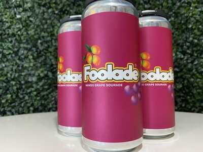 Two Tides - Foolade - Fruited Sour - 6% ABV - 4 Pack