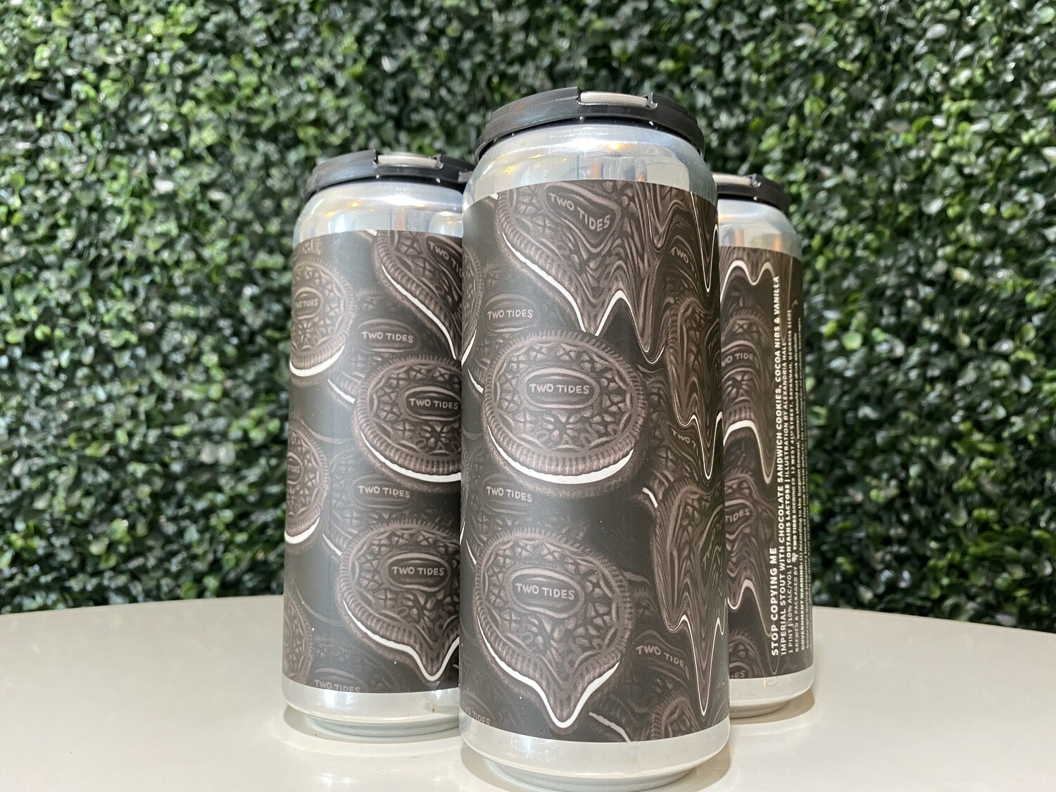 Two Tides - Stop Copying Me - Imperial Stout  - 10%% ABV - 16oz Can