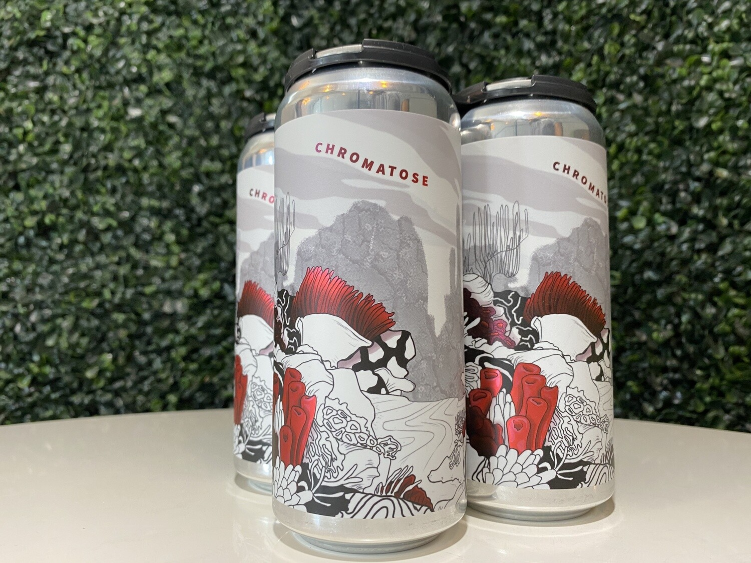 Two Tides - Chromatose - Fruited Sour - 5.2% ABV - 16oz Can