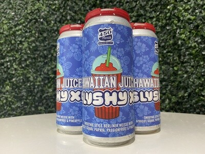 450 North - Slushy XL Hawaiian Juice - Sour Fruited - 5.8% ABV - 4 Pack