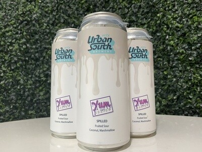 Urban South - Spilled - Yum Series - Coconut, Marshmallow - Fruited Sour - 16oz Can