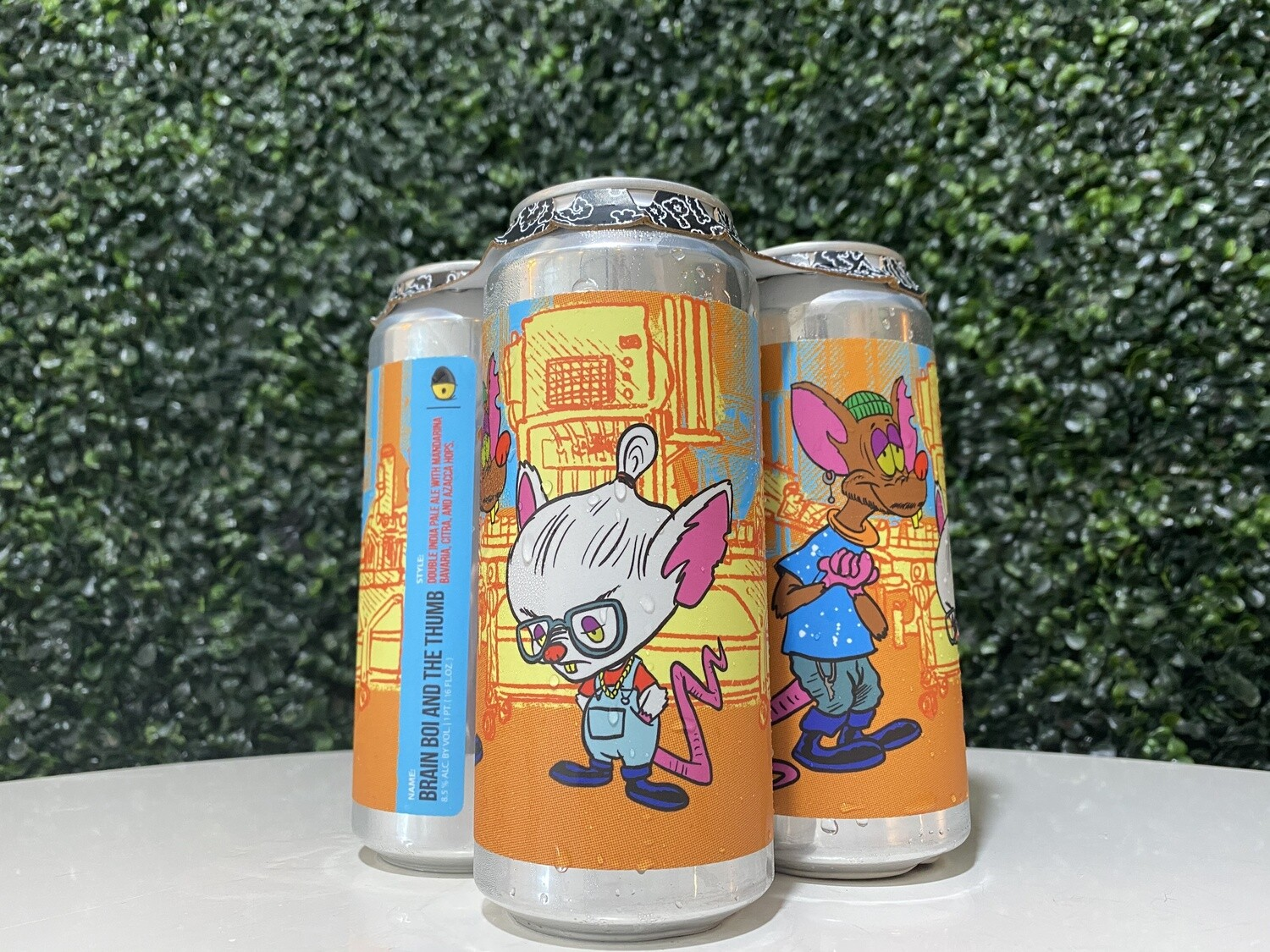 Tripping Animals - Brain Boi And the Thumb - DIPA - 8.5% ABV - 4 Pack