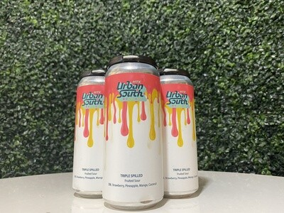 Urban South - Triple Spilled - Double Strawberry, Pineapple, Mango, Coconut - 16oz Can