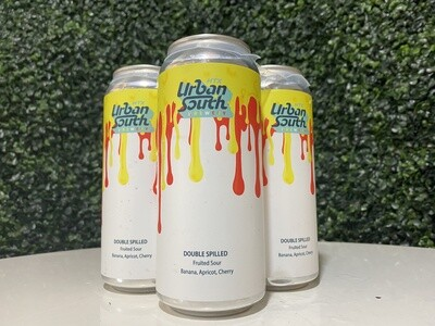 Urban South - Double Spilled - Banana, Apricot, Cherry - Fruited Sour - 4 Pack