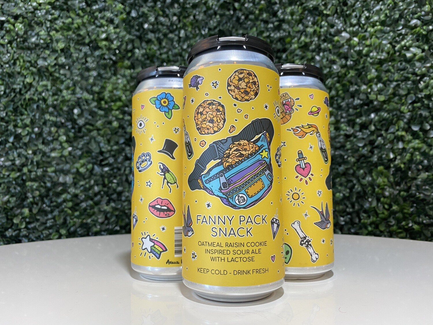 Hidden Springs - Fanny Pack Snack - Sour - 5.5% ABV - 16oz Can