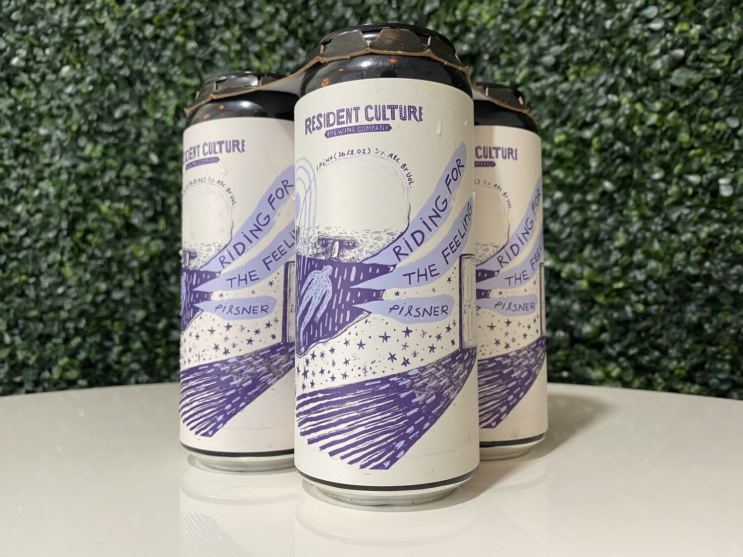 Resident Culture- Riding for that Feeling- Italian Pils - 5% - 16oz Can
