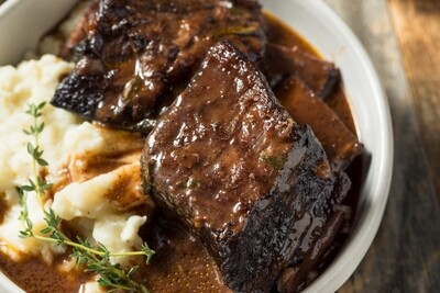 Braised Short Rib for 4