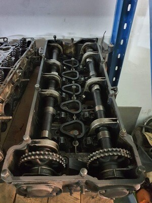 Mercedes-Benz M110 cambox with camshafts