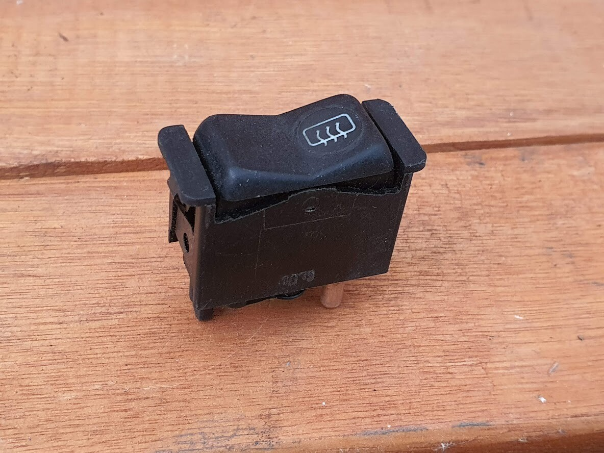 Mercedes-Benz rear defrost switch (R107)