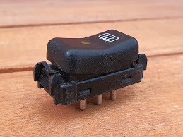 Mercedes-Benz rear defrost switch (W124)
