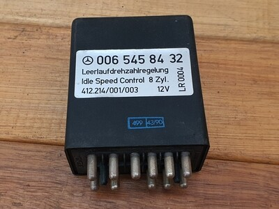 Mercedes-Benz idle speed control relay (W126)