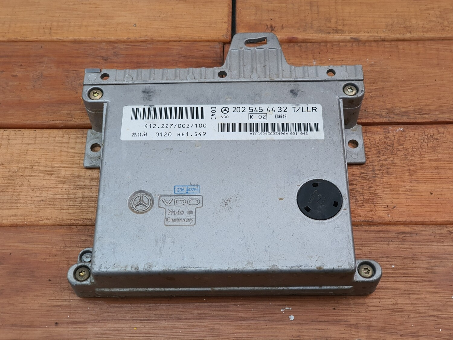 Mercedes-Benz idle speed and cruise control module