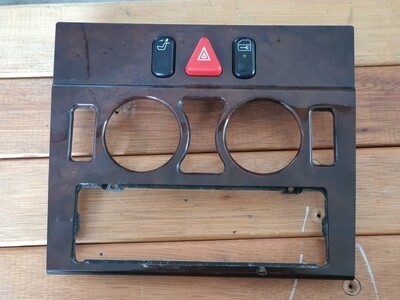 Mercedes-Benz Hazard Button Interior Trim