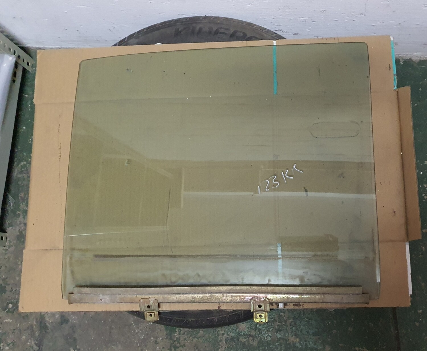 Mercedes-Benz Right Rear Glass (W123)