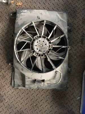 Mercedes-Benz W202 Engine Fan And Cowling.