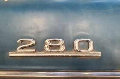 Mercedes-Benz 280 Boot Badge