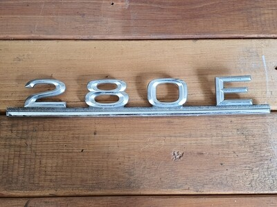 Mercedes-Benz 280E Boot Badge
