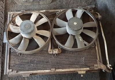 Mercedes-Benz Engine Fans With Condenser (C220)