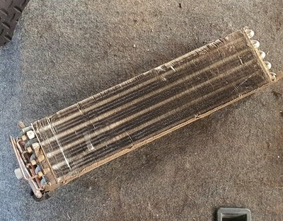 Mercedes-Benz Heater Box Condenser (W123)