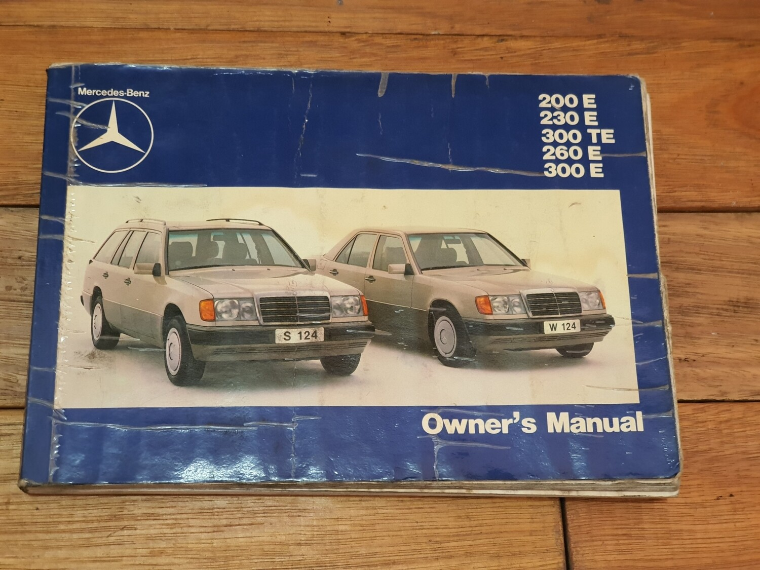 Mercedes-Benz Owners Manual (W124)