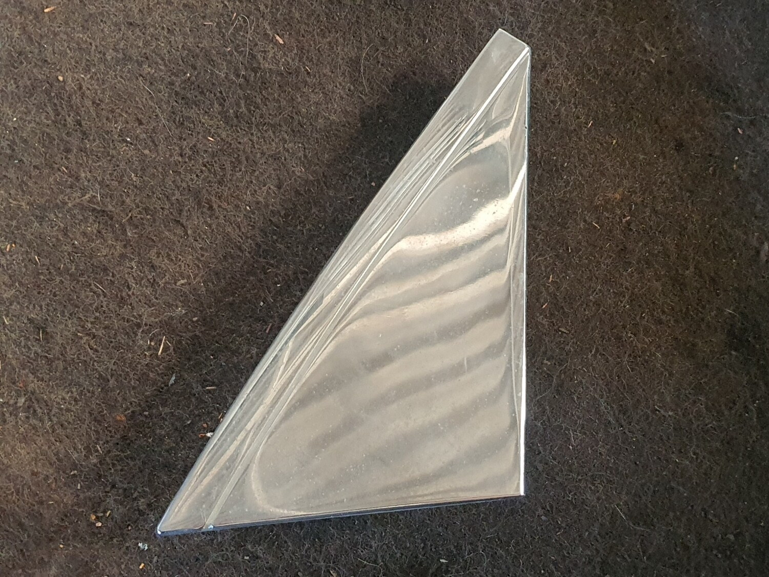Mercedes-Benz Left Side Chrome Mirror Cover (W123)