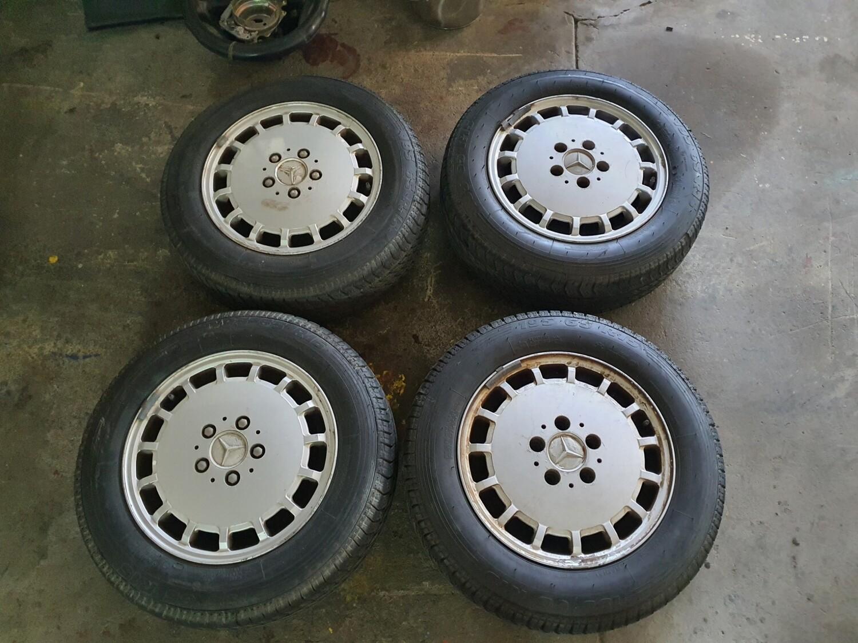 Mercedes-Benz 15 Inch Rims (Set of 4)