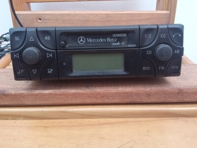 Becker Audio 10 radio/cassette head unit