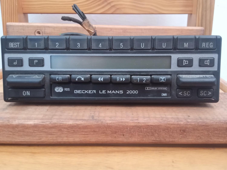 Becker Le Mans 2000 RDS radio/cassette