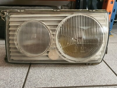 Mercedes-Benz Left Headlight glass only (W123)