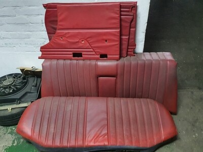 Mercedes-Benz Seats and Door Cards (W114/W115)