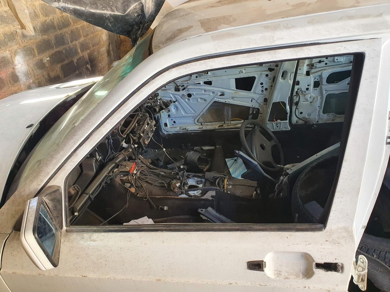 Mercedes-Benz W201 Left Front Door Shell