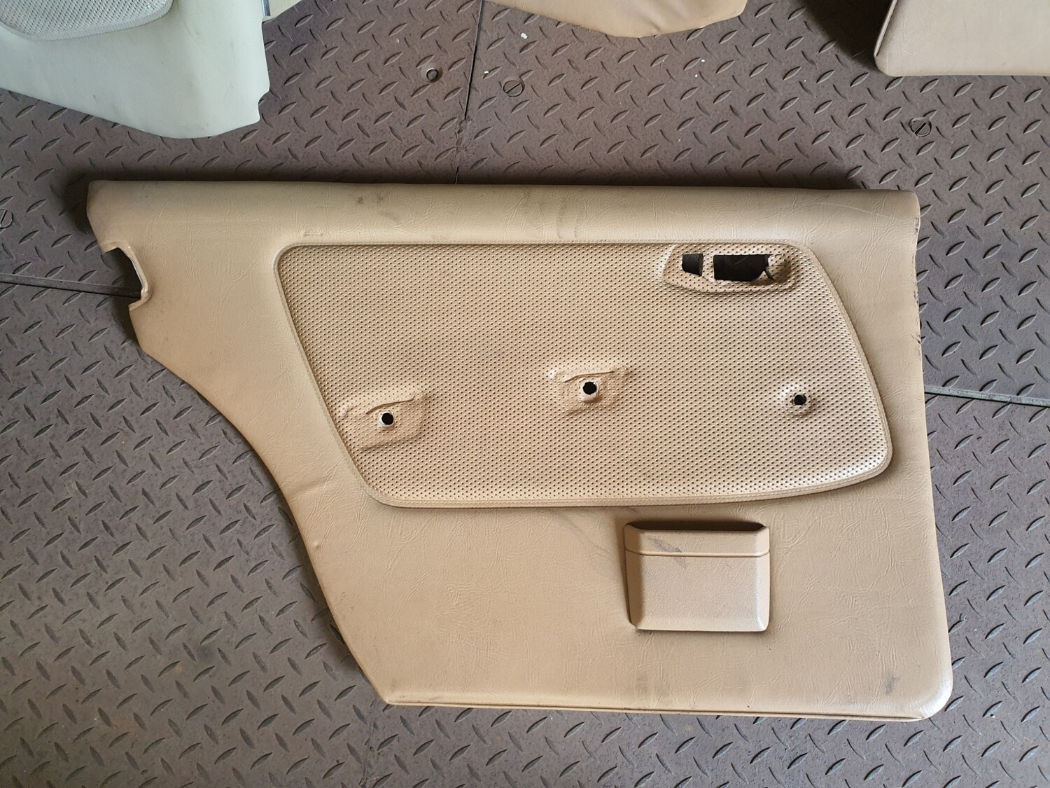 Mercedes-Benz Left Rear Door Card Caramel (W123)
