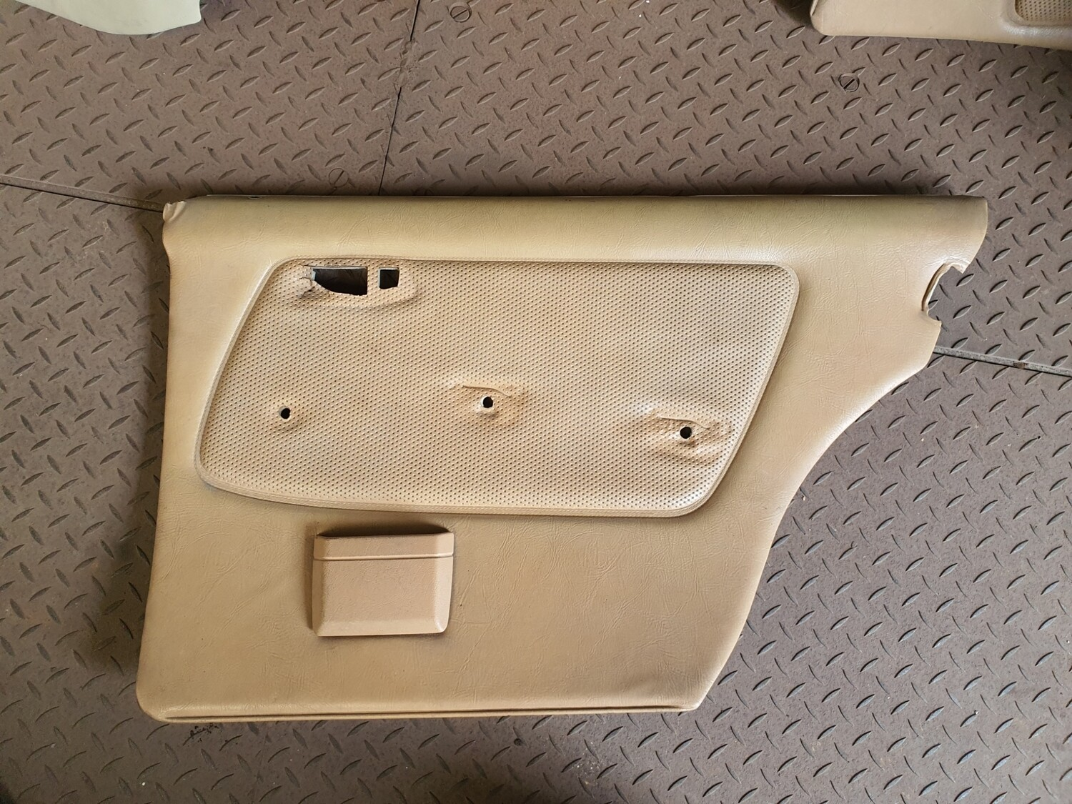 Mercedes-Benz Right Rear Door Card Caramel (W123)