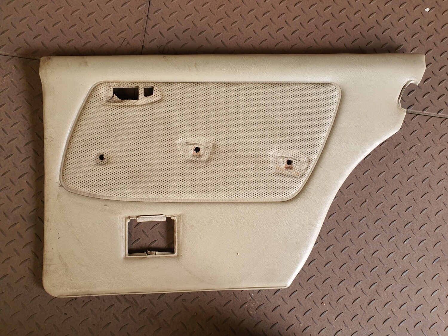 Mercedes-Benz Right Rear Door Card Cream (W123)