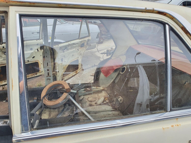 Mercedes-Benz Left Rear Glass (W114/W115)
