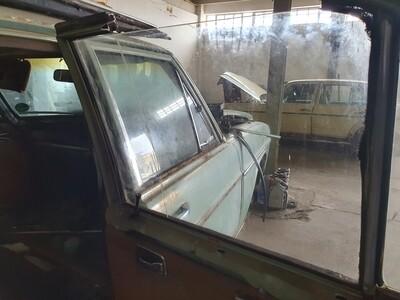 Mercedes-Benz Right Rear Glass (W114/W115)