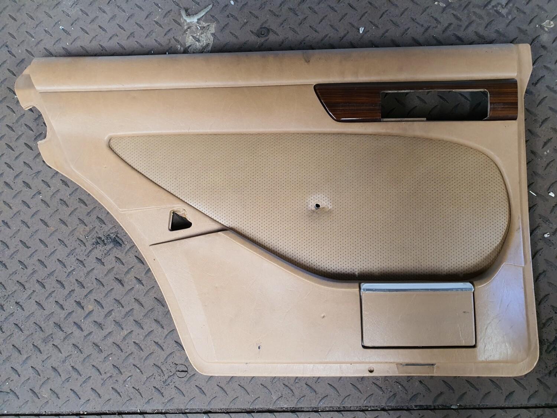 Mercedes-Benz Left Rear Door Card Brown (W126)