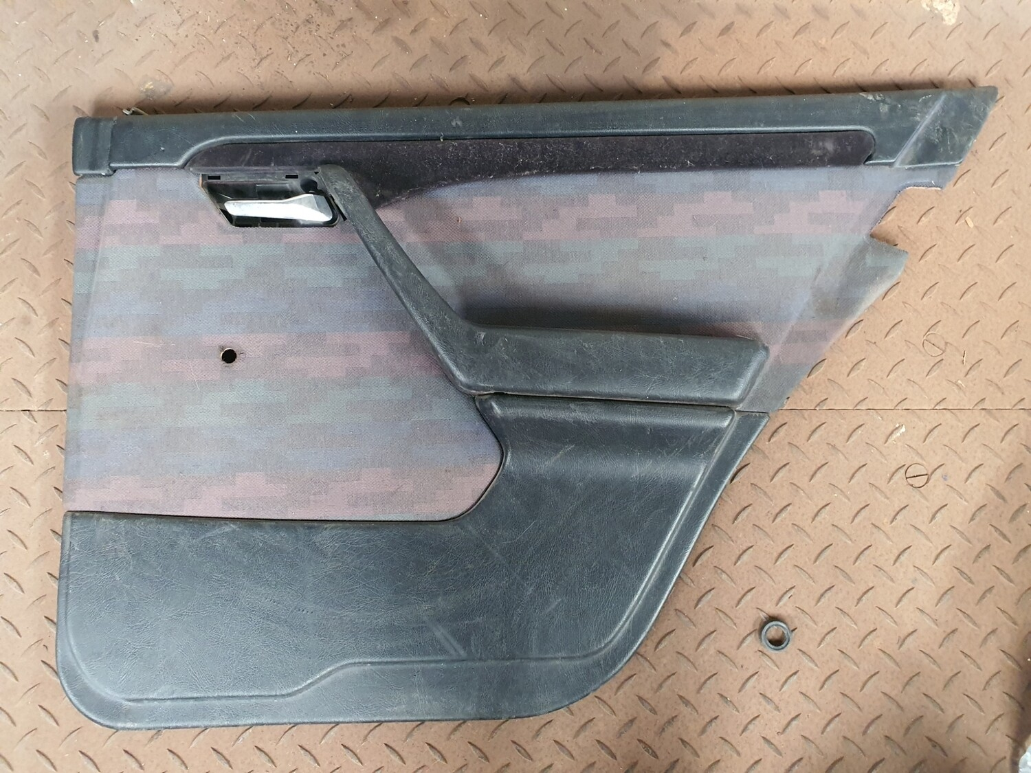 Mercedes-Benz Right Rear Door Card Black With Fabric (W202)