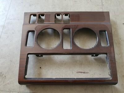 Mercedes-Benz Center Console Wood Trim Around Radio (W202)
