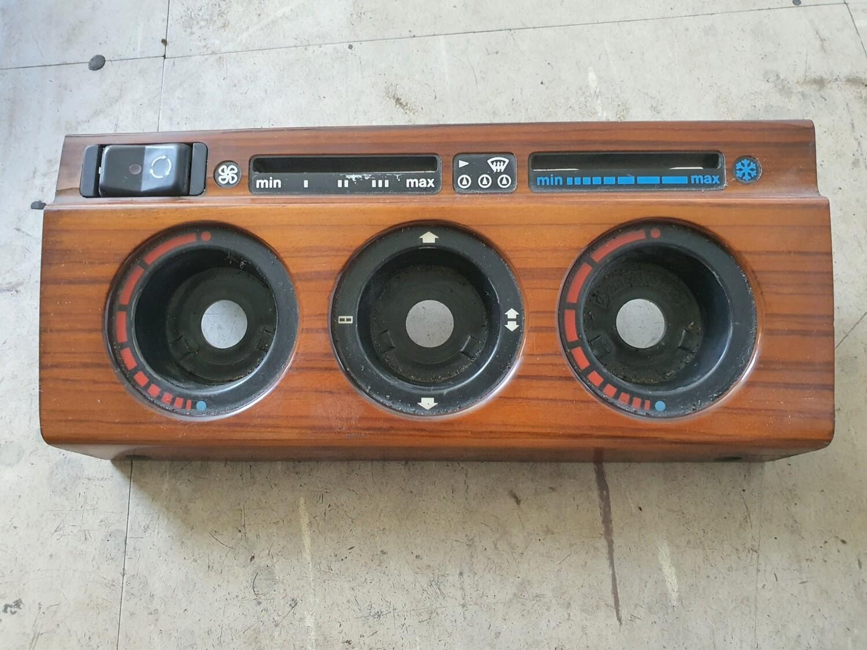 Mercedes-Benz Center Console Wood Trim (W201 190E)