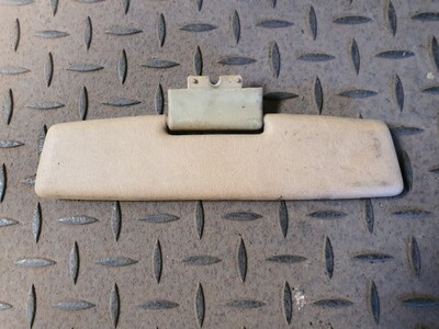 Mercedes-Benz Rearview Mirror Sunvisor Brown (W124)