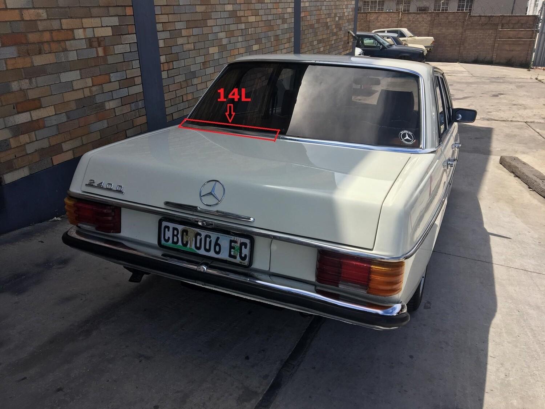 Mercedes-Benz Left Rear Windscreen Beading (W114/W115)