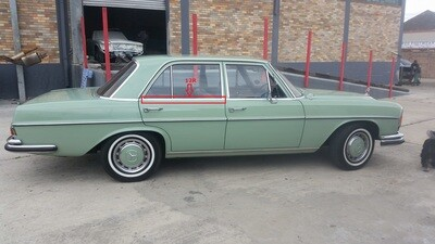 Mercedes-Benz Right Rear Window Trim (W108)