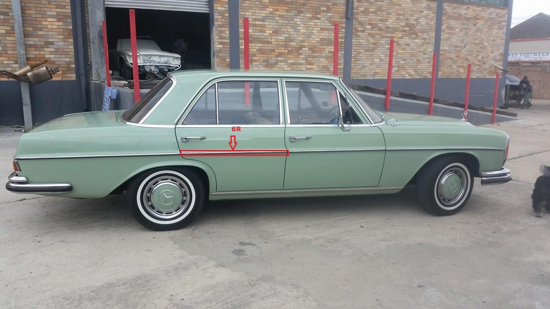 Mercedes-Benz Right Rear Door Beading (W108)