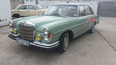 Mercedes-Benz Left Rear Door Beading (W108)