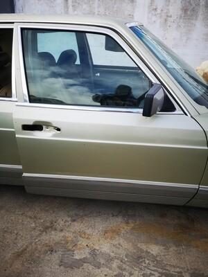 Mercedes-Benz W126 Right Front Door Shell